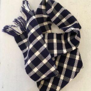 écharpe laine -carreaux